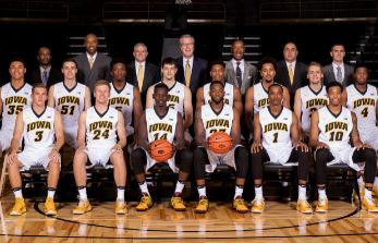2019-2020 Iowa Basketball Team Photo