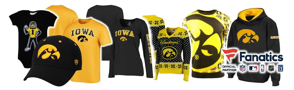 Shop Iowa Hawkeyes Fan Gear